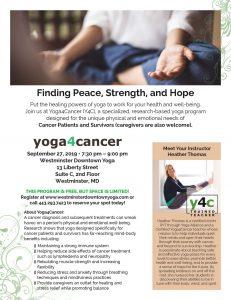 Yoga for Cancer